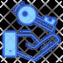 Security Lock Key Icon