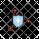 Security Shield Covid Icon