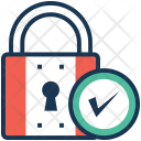 Security Padlock Protection Icon