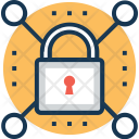 Security Lock Technology Icon