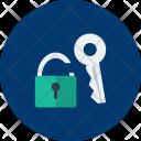 Padlock Key Security Icon