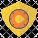 Security Privacy Bitcoin Icon