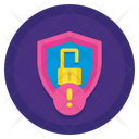 Idata Leak Security Alert Data Leak Icon