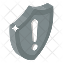 Security Alert Security Risk No Protection Icon