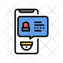 Security Application Message Icon