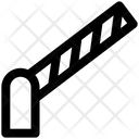 Police Barrier Manual Barrier Road Barrier Icon