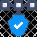M Blockchain Security Blockchain Blockchain Icon