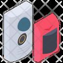 Security Button Sensor Icon