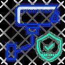 Security Surveillance Security Camera Secure Surveillance Icon