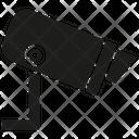 Security Camera Cctv Monitoring Icon