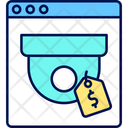 Security Camera Purchase Icon