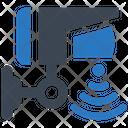 Security Camera Signal Icon