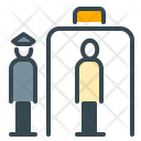 Security Check Airport Icon