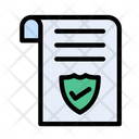 Security Document Records Icon