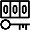 Security Concept Digital Security Numeric Code Icon