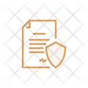 Security Document Safety Document Security Paper Icon