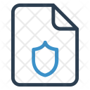 Security File Sheet Icon