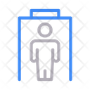 Security Gate Protection Icon
