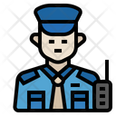 Security Guard Security Occupation Icon
