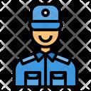 Security Guard Surveillance Guard Icon