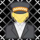 Security Guard Watchman Gatekeeper Icon