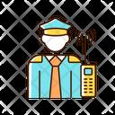 Security Guard Uniform Icon
