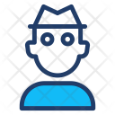 Security Guard Man Icon