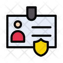 Id Security Badge Icon