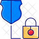 Securitym Security Lock Protection Icon