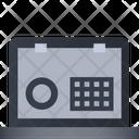 Security Lock Laptop Icon