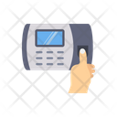 Security Machine Thumb Scanner Scan Icon