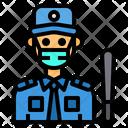 Security Man Guard Man Icon