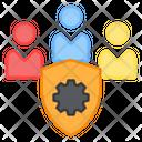 Security Management Team Icon