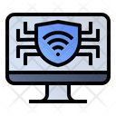 Security monitor Icon