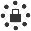 Lock Network Security Icon
