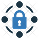 Security Network Network Padlock Icon