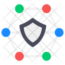 Security Network Safe Network Protective Network Icon
