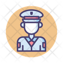 Isecurity Officer Security Officer Officer Icon