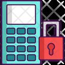 Security Panel Padlock Mobile Password Icon
