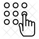 Security Pattern Icon