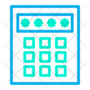Passcode Security Code Protected Icon