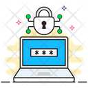 Digital Security Enter Pin Passkey Icon