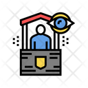 Security Post Color Icon