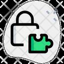 Security Puzzle Icon