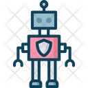 Security Robot Icon
