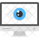 Computer Monitor Scanner Icon