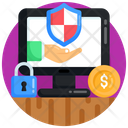 Cybersecurity Security Service Online Payment Security Icon