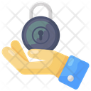 Security Services Offer Security Lock Care Icon