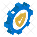 Security Setting Security Management Security Configuration Icon