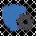 Security Setting Cogwheel Icon